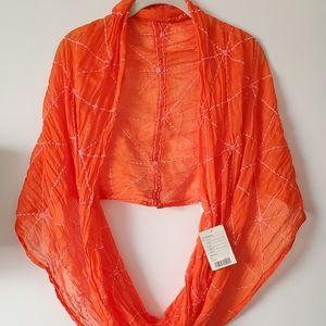 NWT Vibrant Orange 🍊 Scarf Wrap